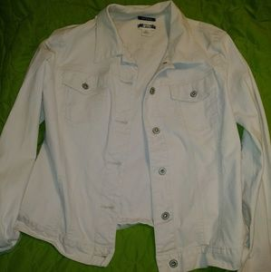 Gap XL cream jean jacket, excellent used condition
